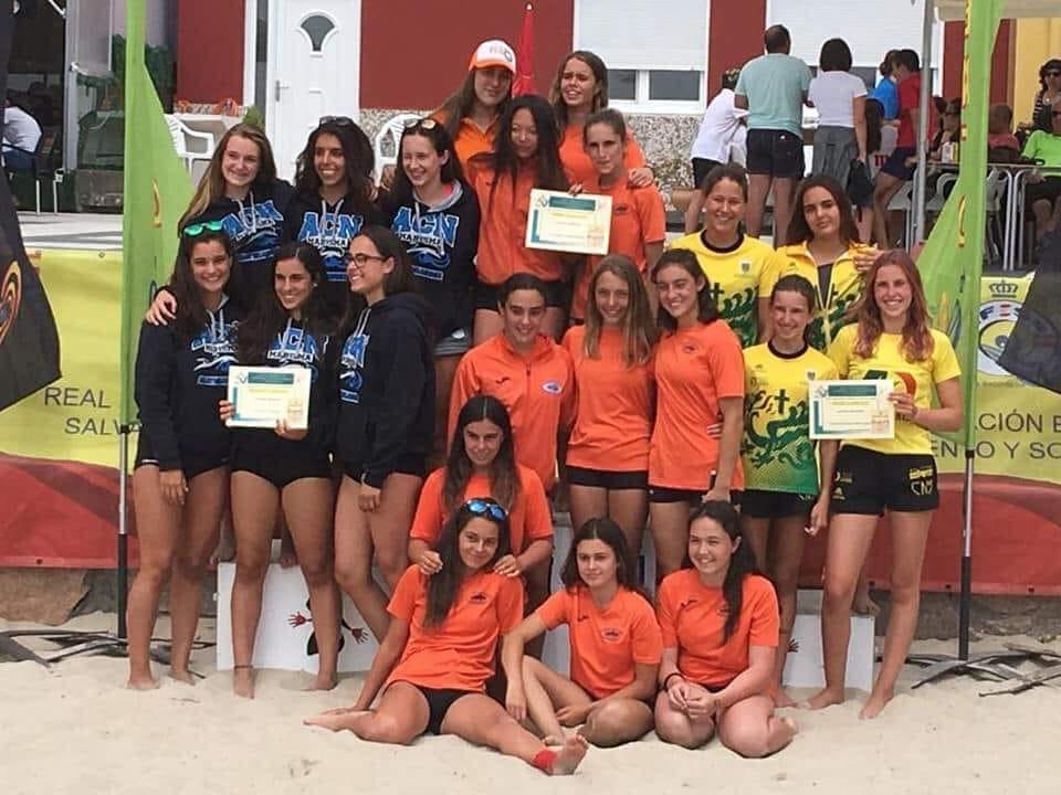 Oro, Plata y Finales para el Club Natación Martianez en el Campeonato de España de Salvamento y Socorrismo