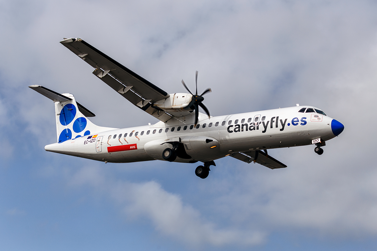 Canaryfly revalida el liderazgo como la aerolínea más puntual del mundo