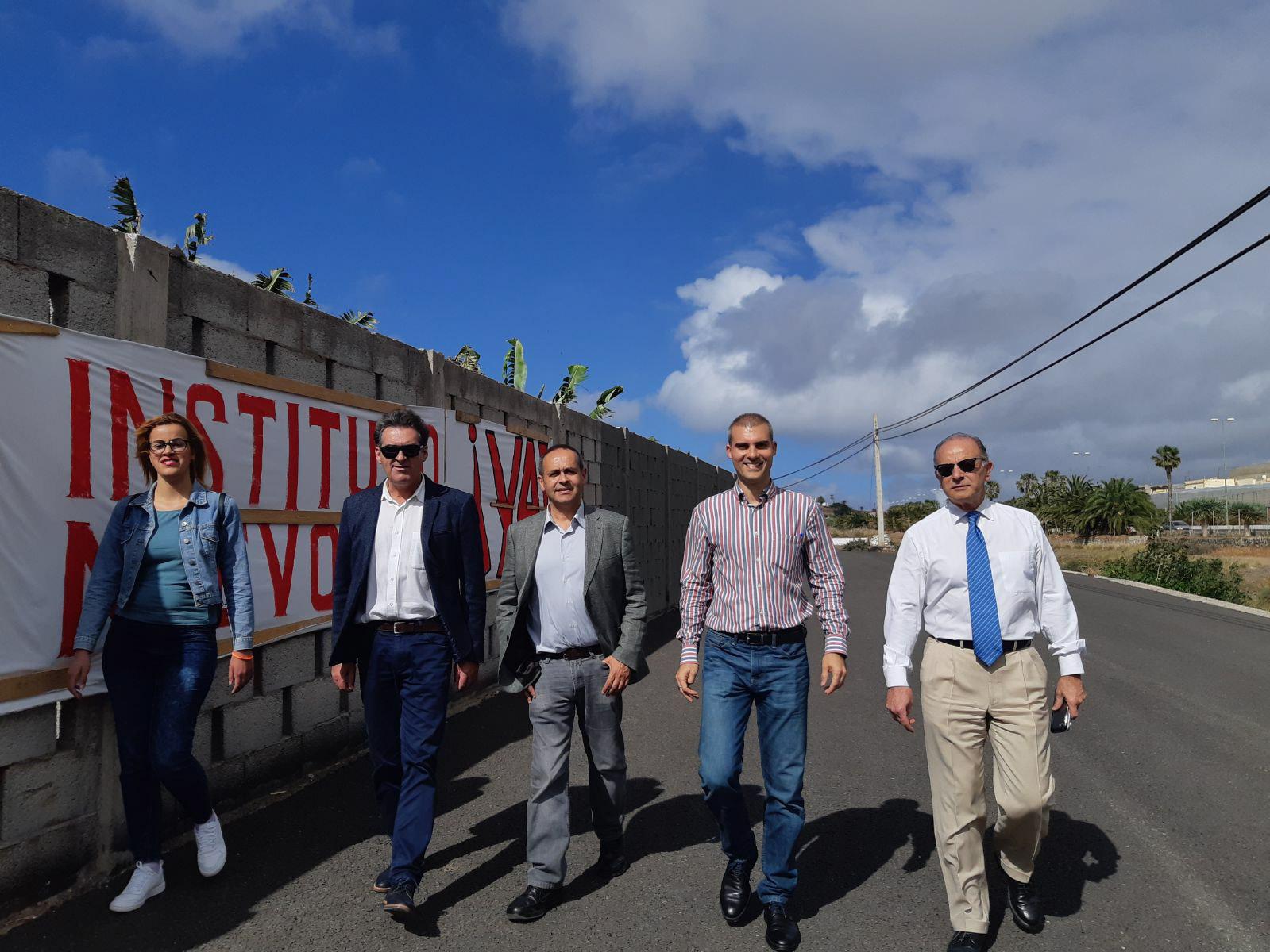 El PP denuncia que las obras del nuevo instituto de Gáldar siguen paralizadas pese a contar con presupuesto