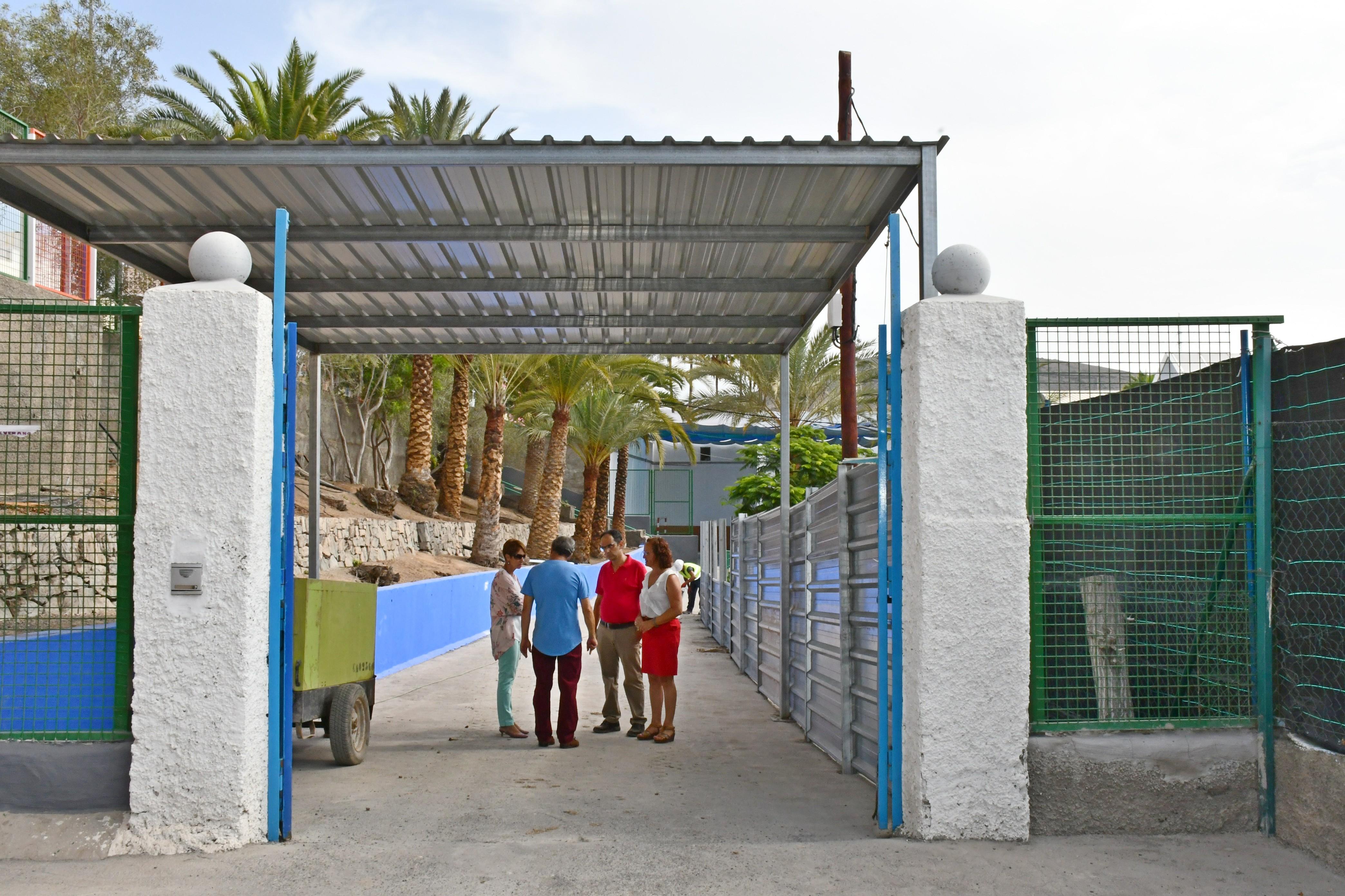 Mogán finaliza las obras de mejora en sus centros educativos