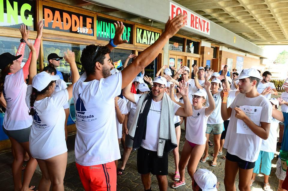 La Escuela de Vela de Puerto Rico acoge el primero de los bautismos de mar del programa de 'Deporte Adaptado'