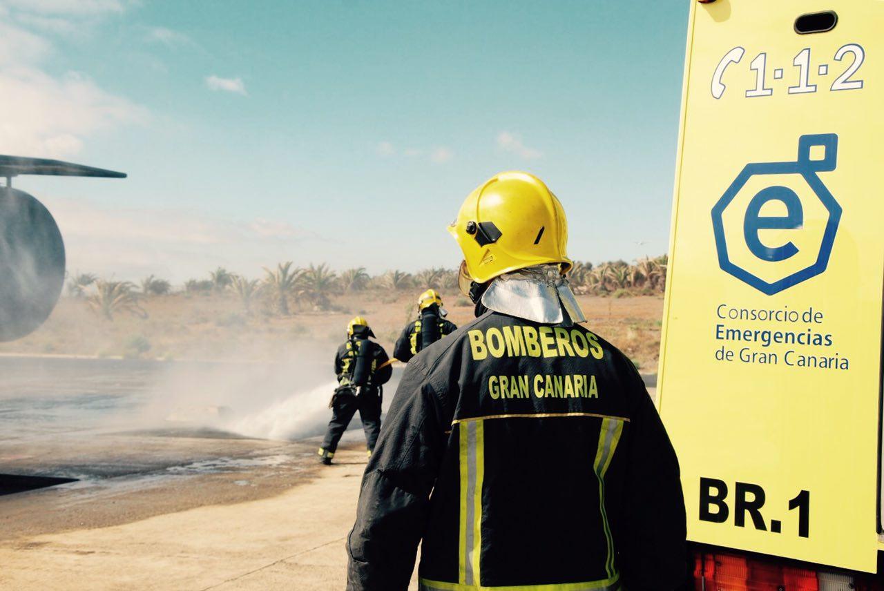 Los bomberos llevan a los tribunales su litigio con el Consorcio de Emergencias de Gran Canaria