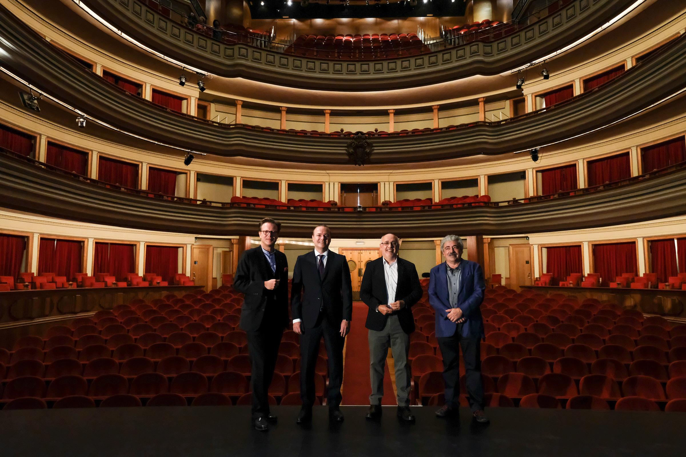 El Auditorio Alfredo Kraus y el Teatro Pérez Galdós presentan su nueva programación