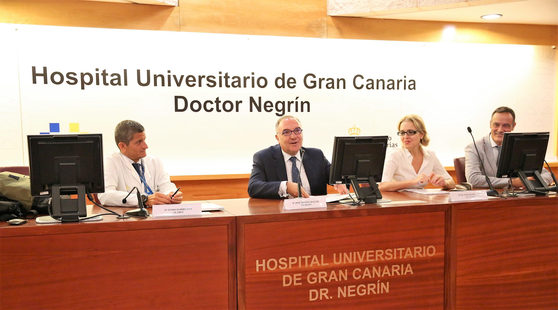 El Hospital Dr. Negrín acoge una jornada sobre el futuro del trasplante en Canarias