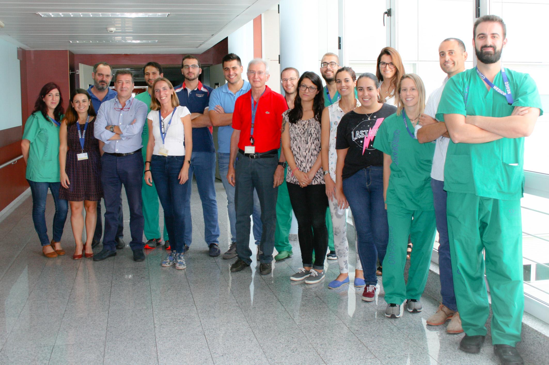 El Hospital de La Candelaria ofrece un curso intensivo de cirugía de urgencias