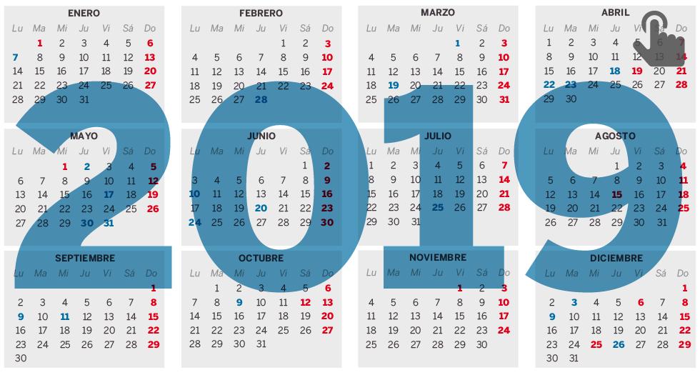 Calendario Laboral 2020 Palma De Mallorca.El Calendario Laboral De 2019 Tendra 8 Festivos Con Dos Puentes