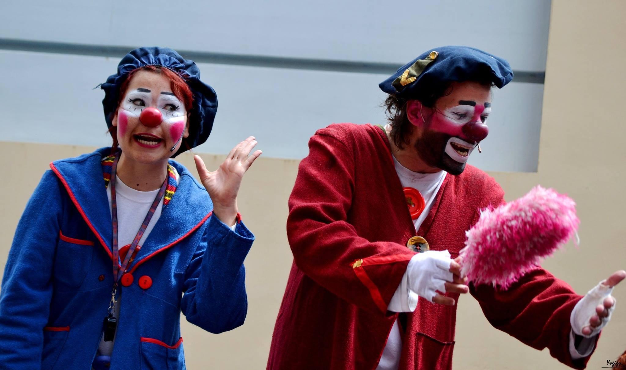El gesto se multiplica en el segundo Festival Internacional de Mimo de Canarias