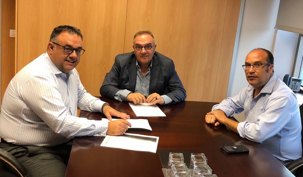 Sanidad y el Ayuntamiento de Valleseco abordan el desarrollo del proyecto del nuevo Centro de Salud