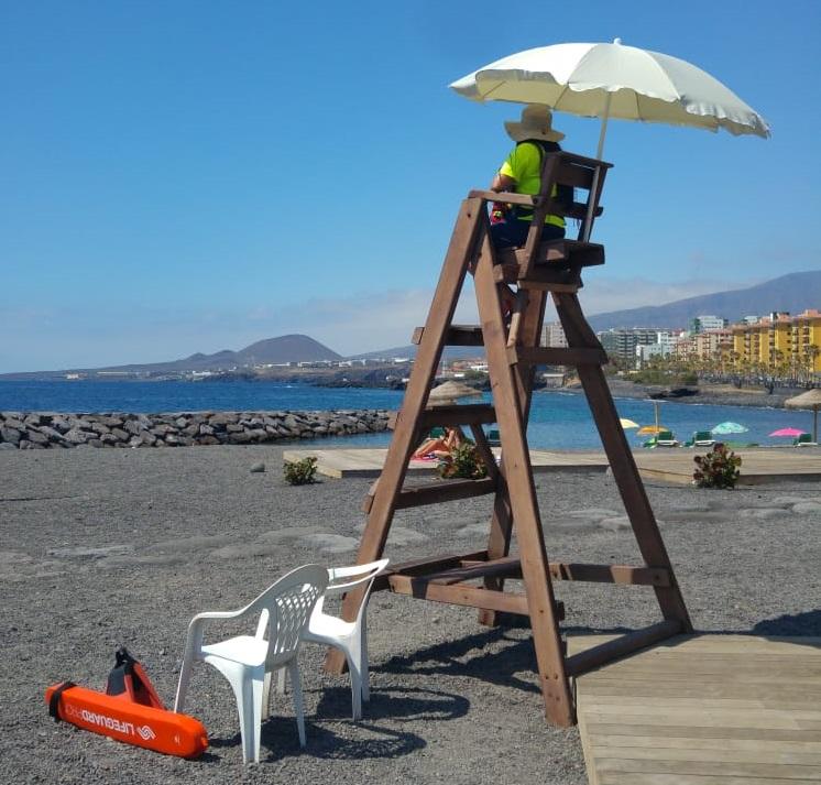 Puesto de socorrismo en playa