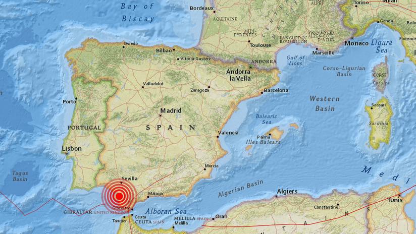 Se registra un terremoto de magnitud 4.0 en el sur de España