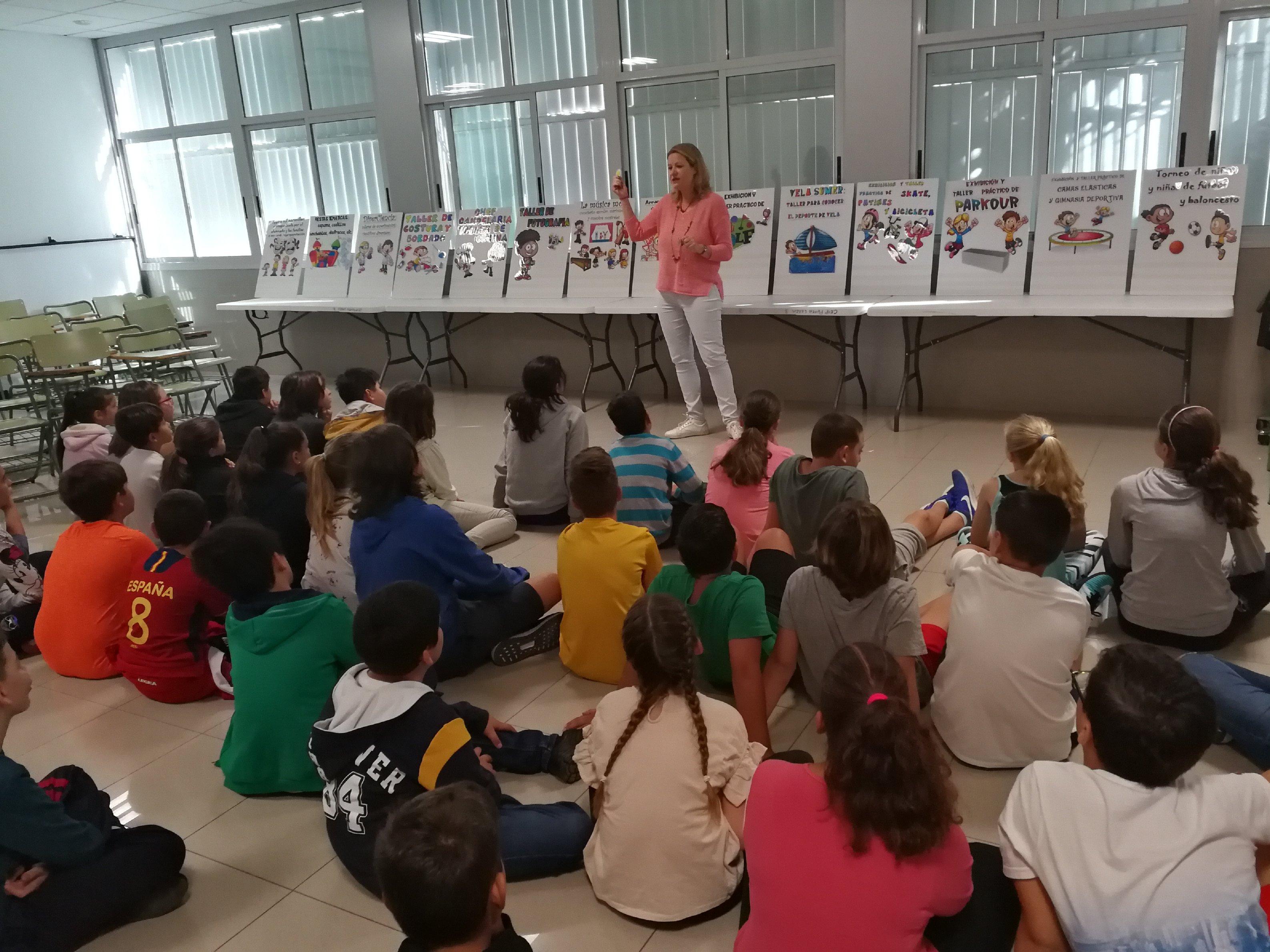 Más de 1600 menores de Candelaria se implican en los presupuestos comunitarios