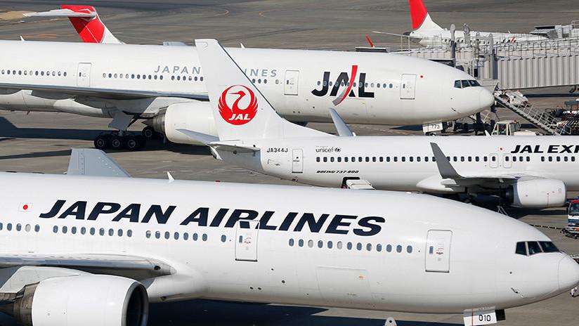 Aviones Japan Airlines