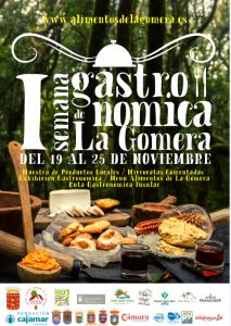 Cartel Semana Gstronómica de La Gomera
