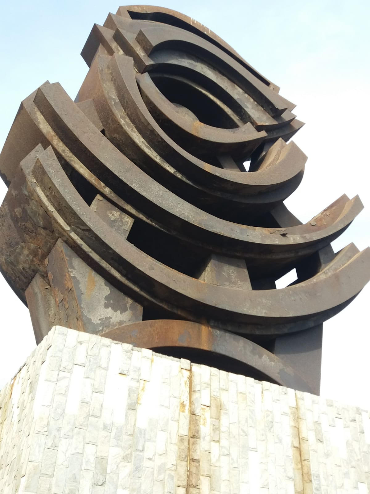 Escultura oxidada