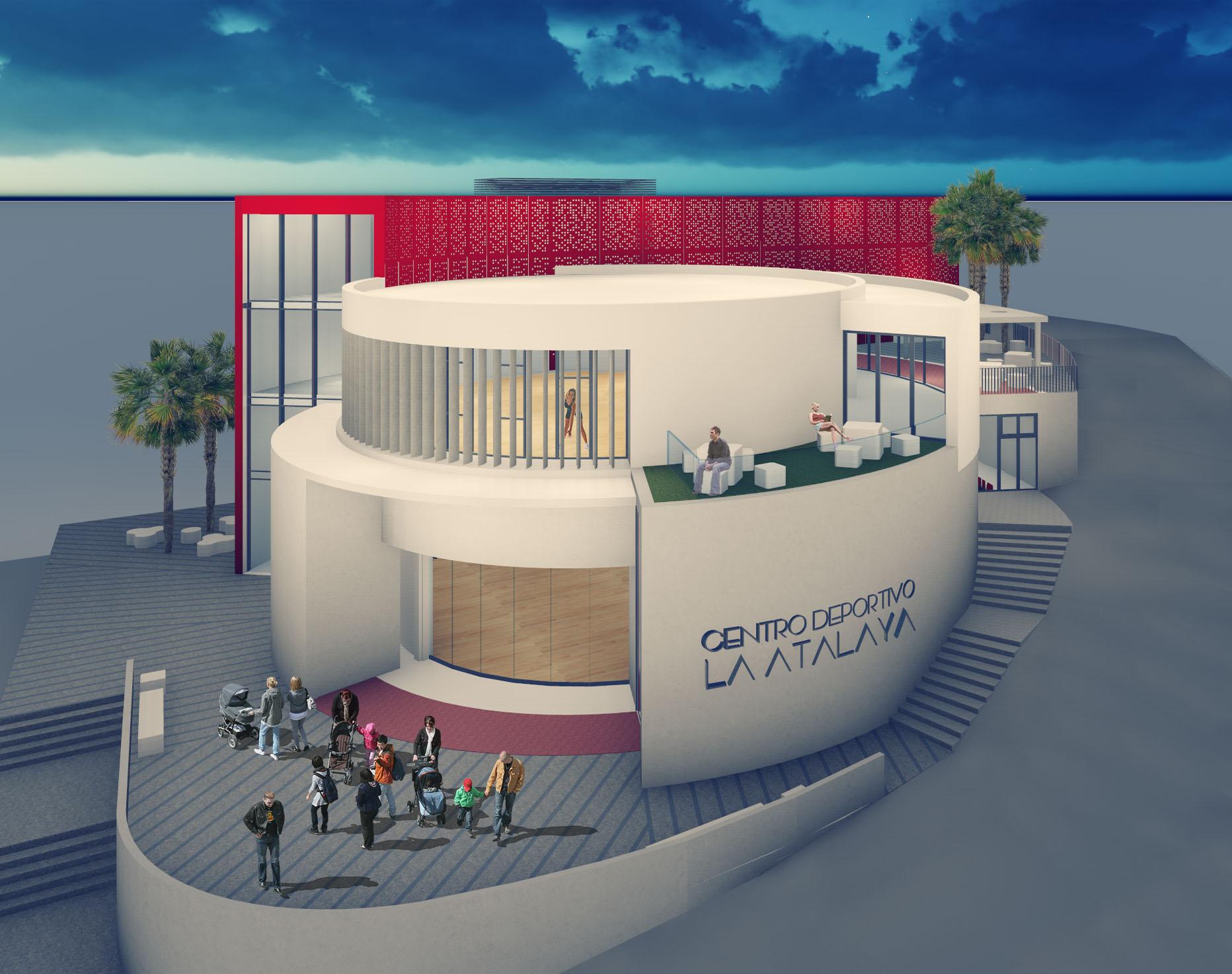 Comienzan las obras del nuevo Centro Cívico-Deportivo de La Atalaya