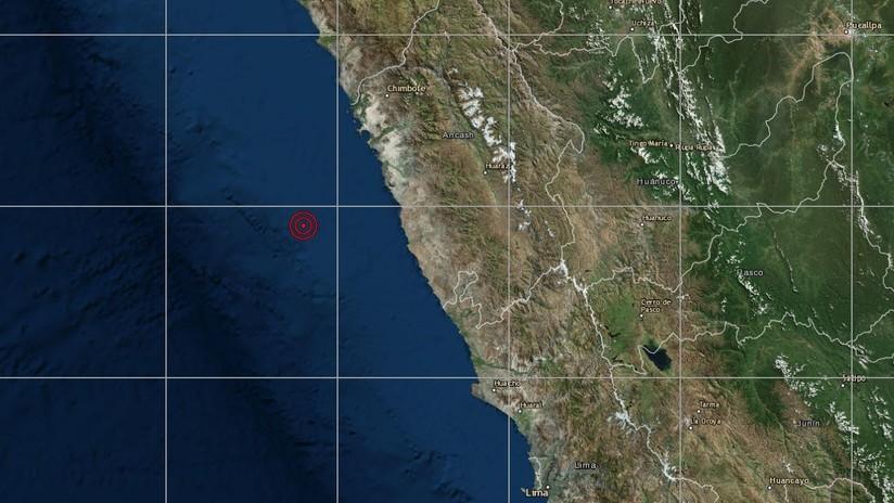 Un sismo de magnitud 5,7 sacude la costa de Perú