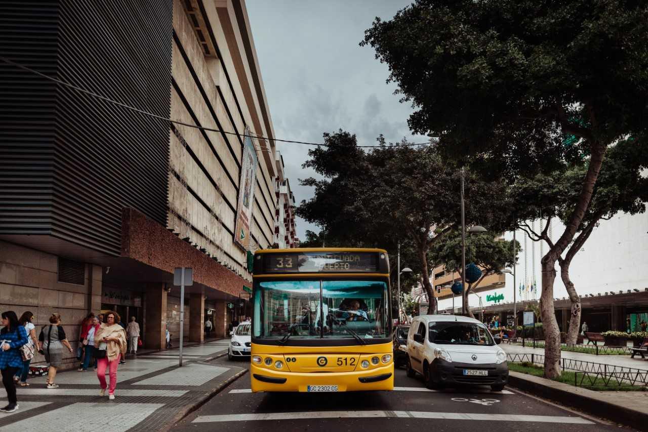 Guaguas Municipales intensifica sus conexiones con las principales zonas comerciales