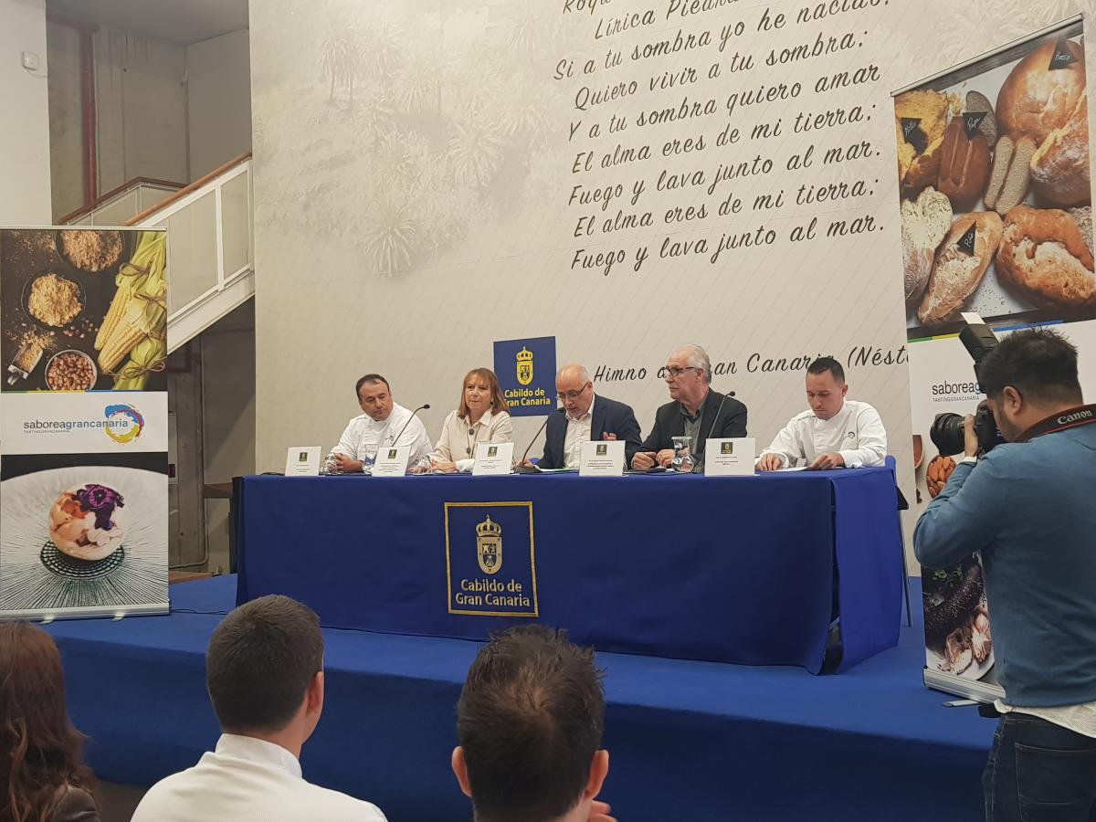 La gastronomía de Gran Canaria presenta su enorme potencial como atractivo turístico en el certamen internacional 'Madrid Fusión'
