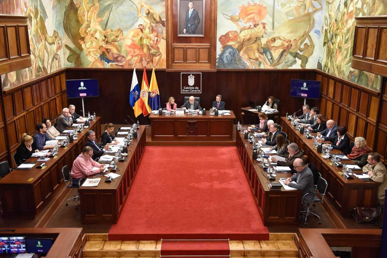 El Cabildo de Gran Canaria aprueba su presupuesto de 2019 con 913 millones