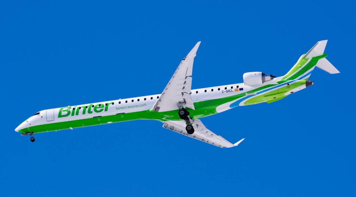 Binter empieza a vender los vuelos entre Gran Canaria y Toronto