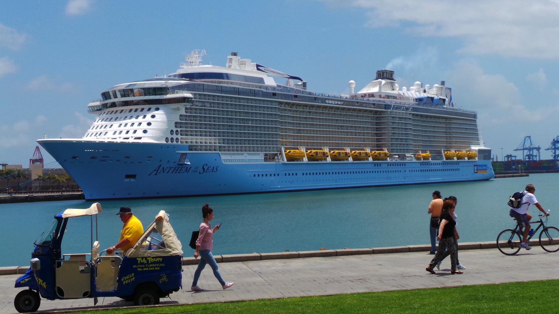 Los Puertos de Las Palmas se consolidan como líderes en turismo de cruceros en la ruta de las Islas Atlánticas