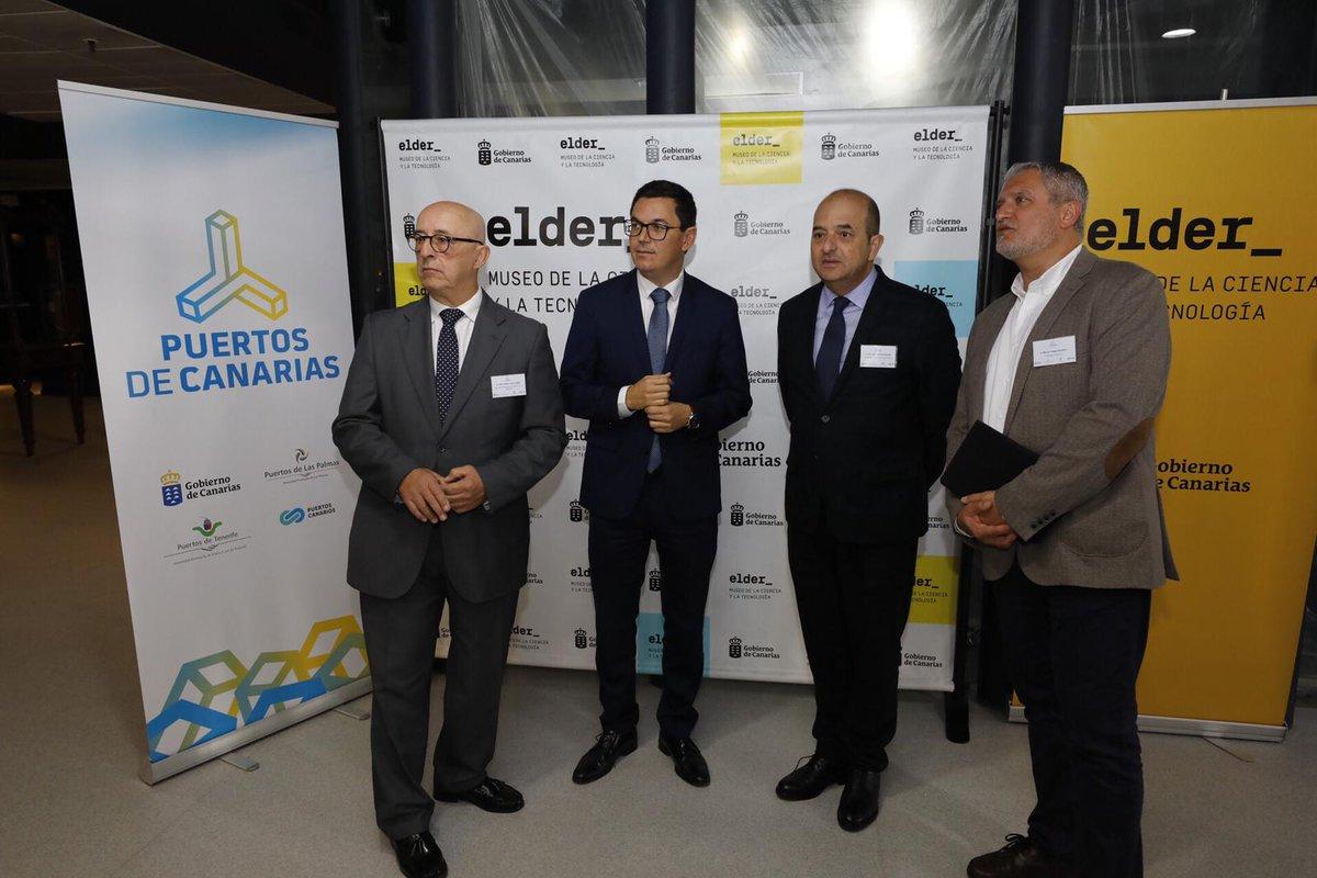 Pablo Rodríguez subraya que la unión de los puertos de Canarias supondrá un gran beneficio para el Archipiélago en materia portuaria