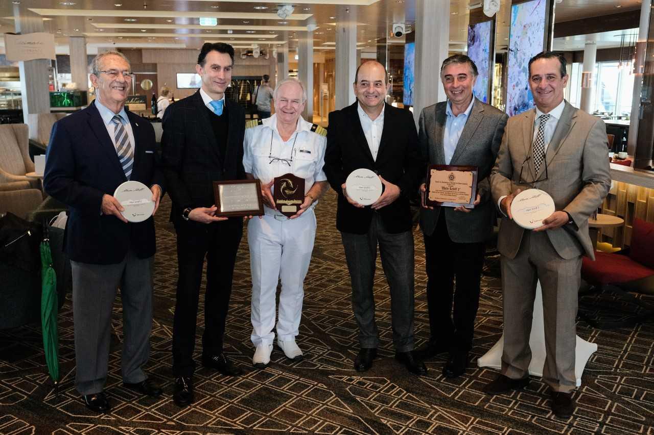 Cardona resalta el liderazgo de los Puertos Las Palmas en la ruta Atlántica de cruceros