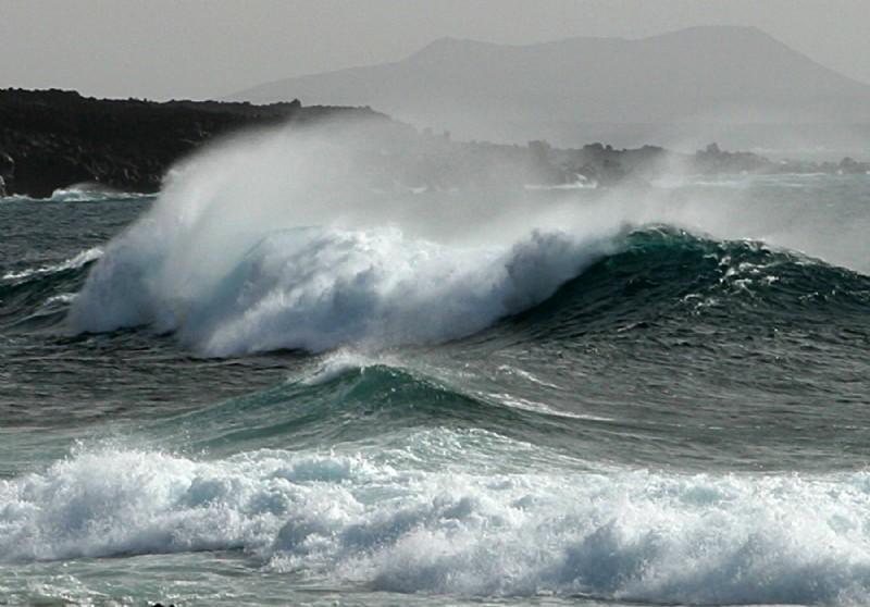 Declarada la situación de prealerta por fenómenos costeros en Lanzarote y Fuerteventura