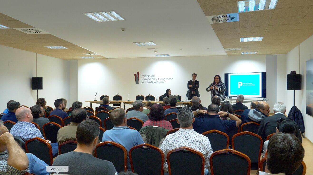 Fuerteventura acoge la primera de las siete votaciones electrónicas del Plan de Canarias para el Turismo 2025