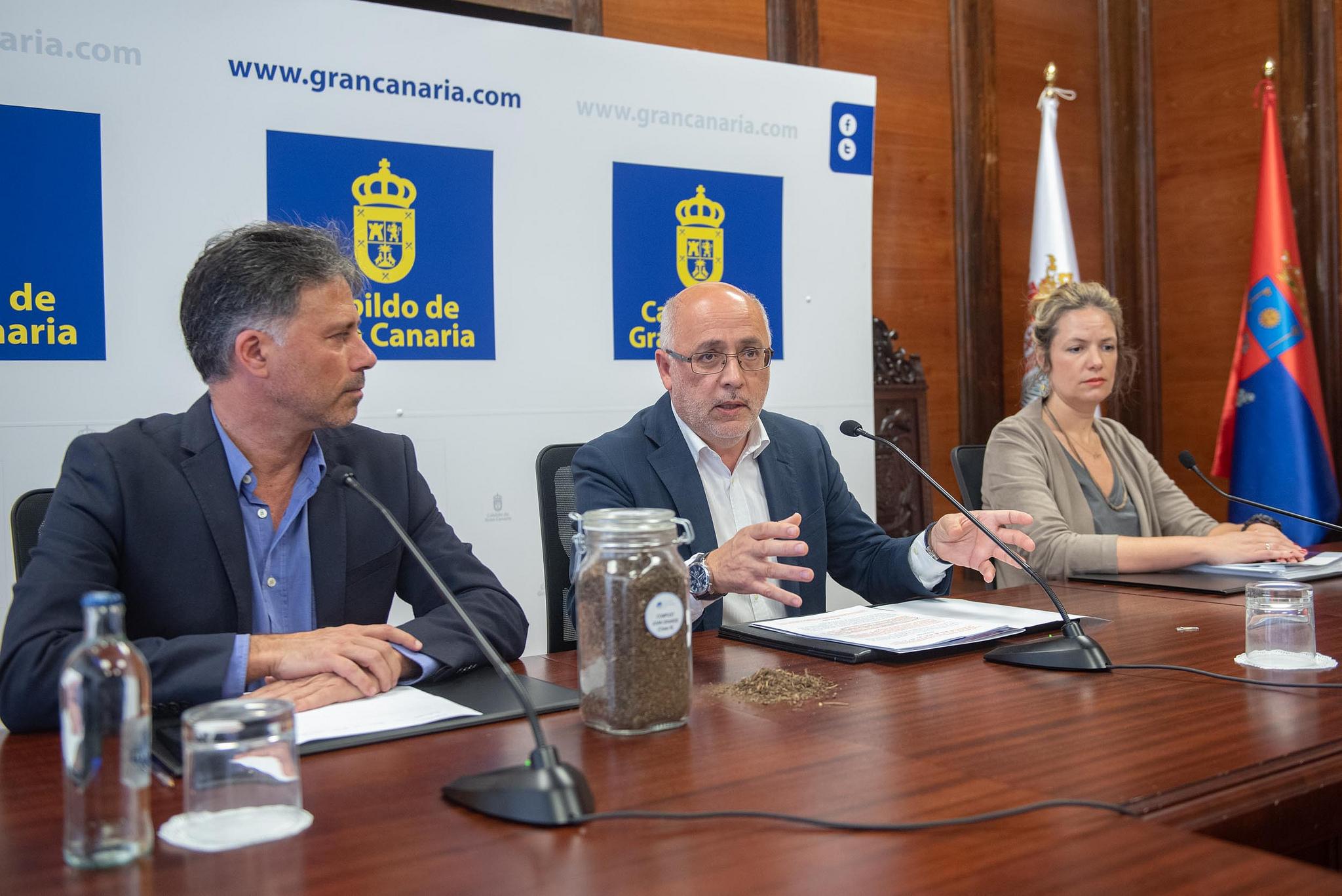 El compost orgánico producido por el Cabildo de Gran Canaria ha sido certificado por el Ministerio de Agricultura