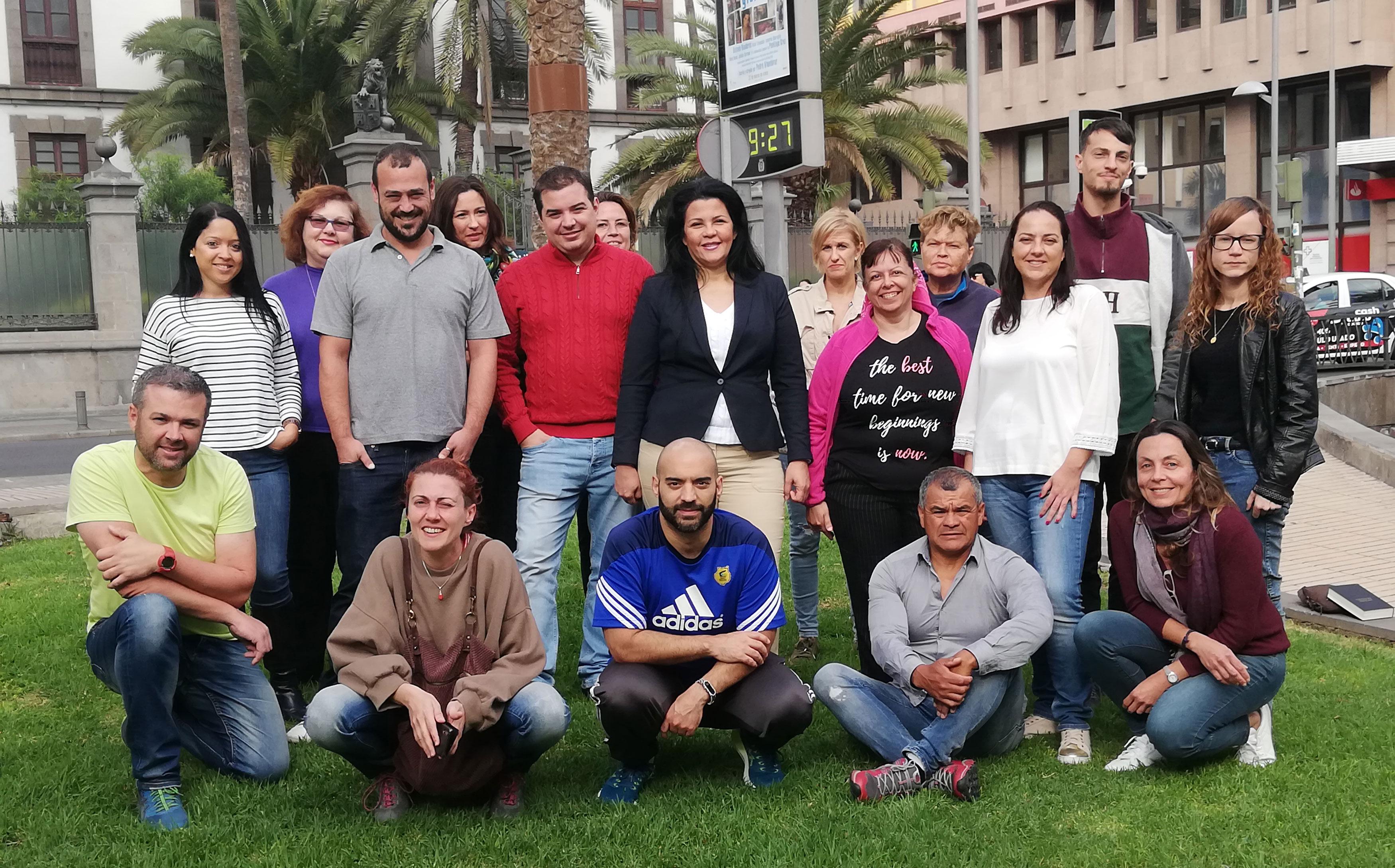 60 personas prepara su salida al mercado laboral en las 3 nuevas lanzaderas de Empleo de Gran Canaria