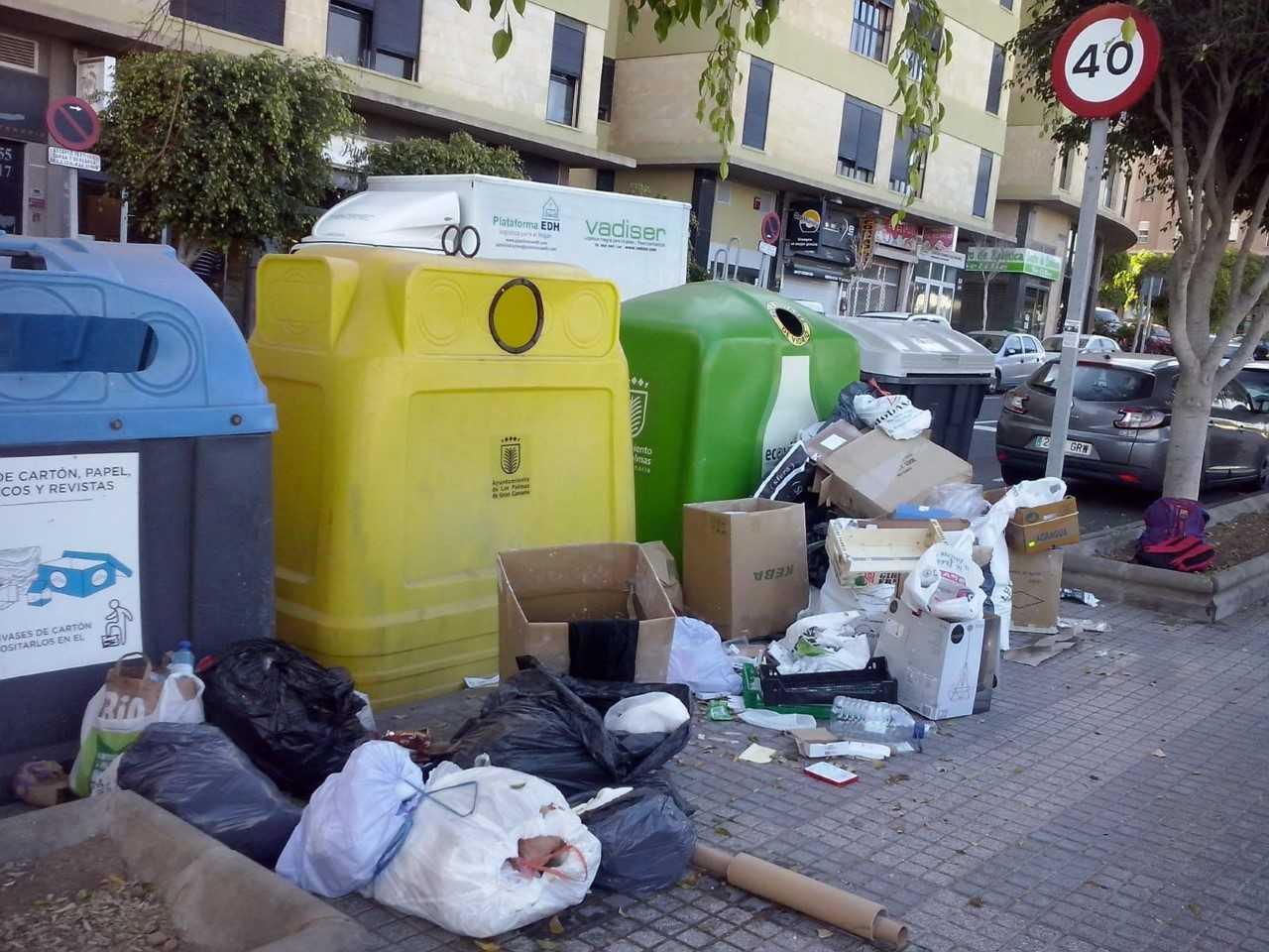 """El PP de Las Palmas de Gran Canaria califica la gestión de Hidalgo en limpieza como """"la peor de la historia"""""""