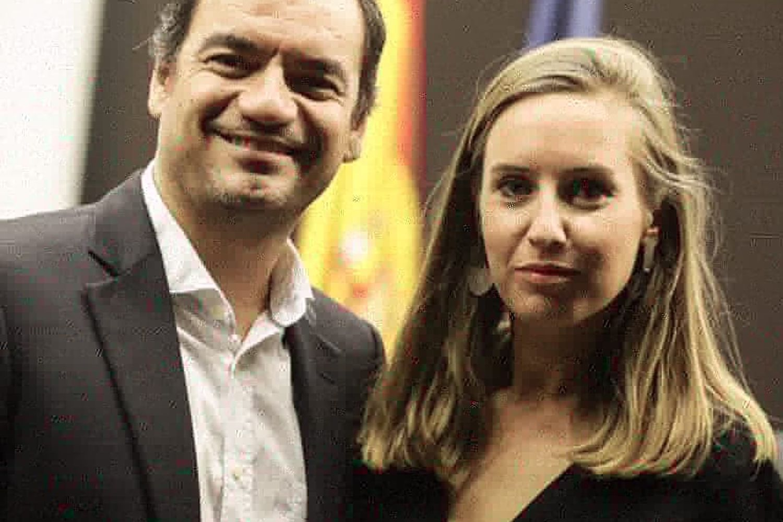 Saul Ramírez y Melisa Rodríguez