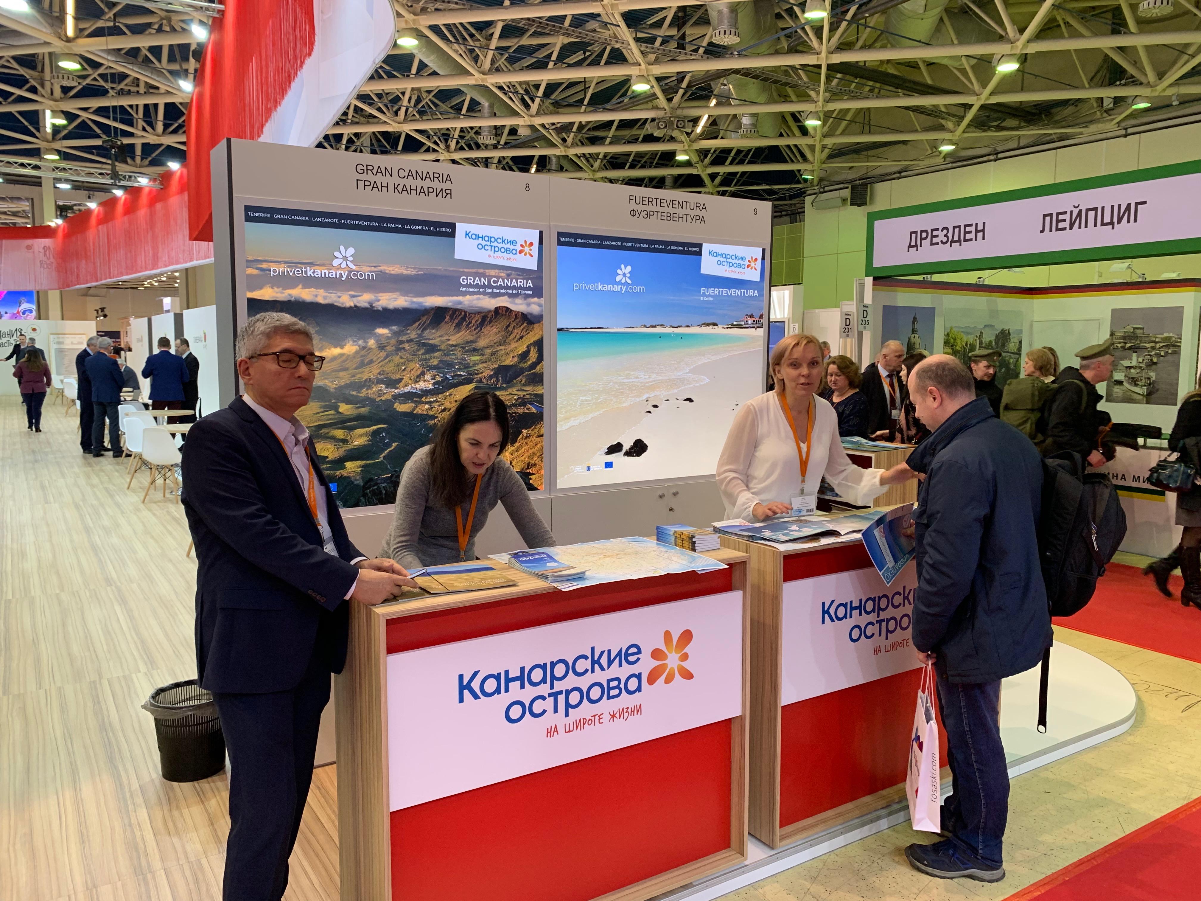 La marca Islas Canarias acude a la feria de turismo de Moscú
