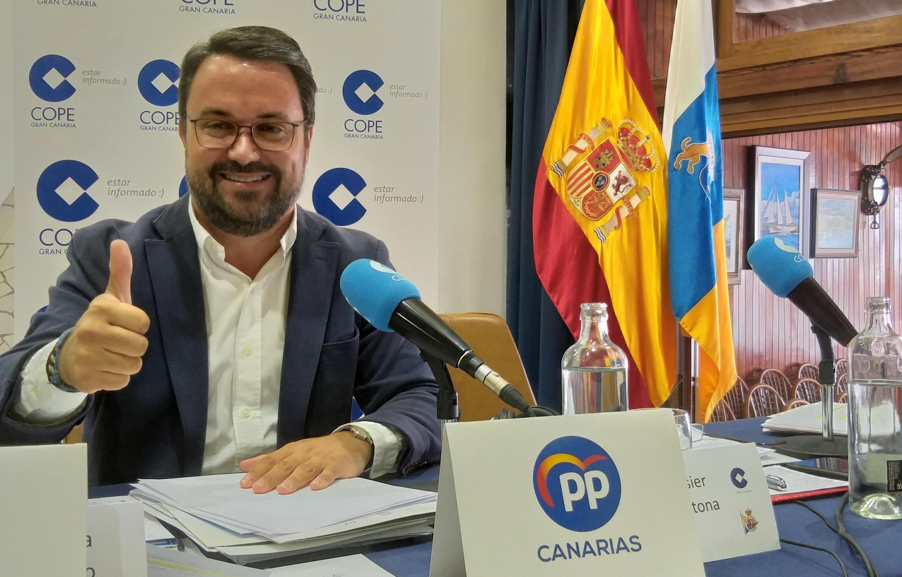 Antona apela a votar este domingo al Partido Popular para regenerar la vida política de Canarias