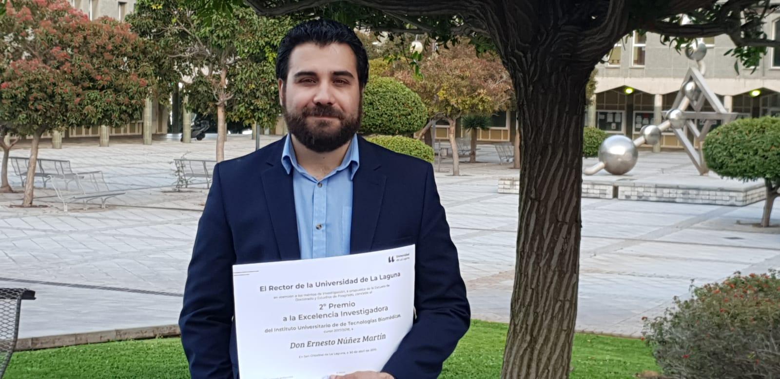 Resultado de imagen de Dos doctorandos que realizan su tesis en La Candelaria reciben el Premio a la Excelencia Investigadora de la ULL