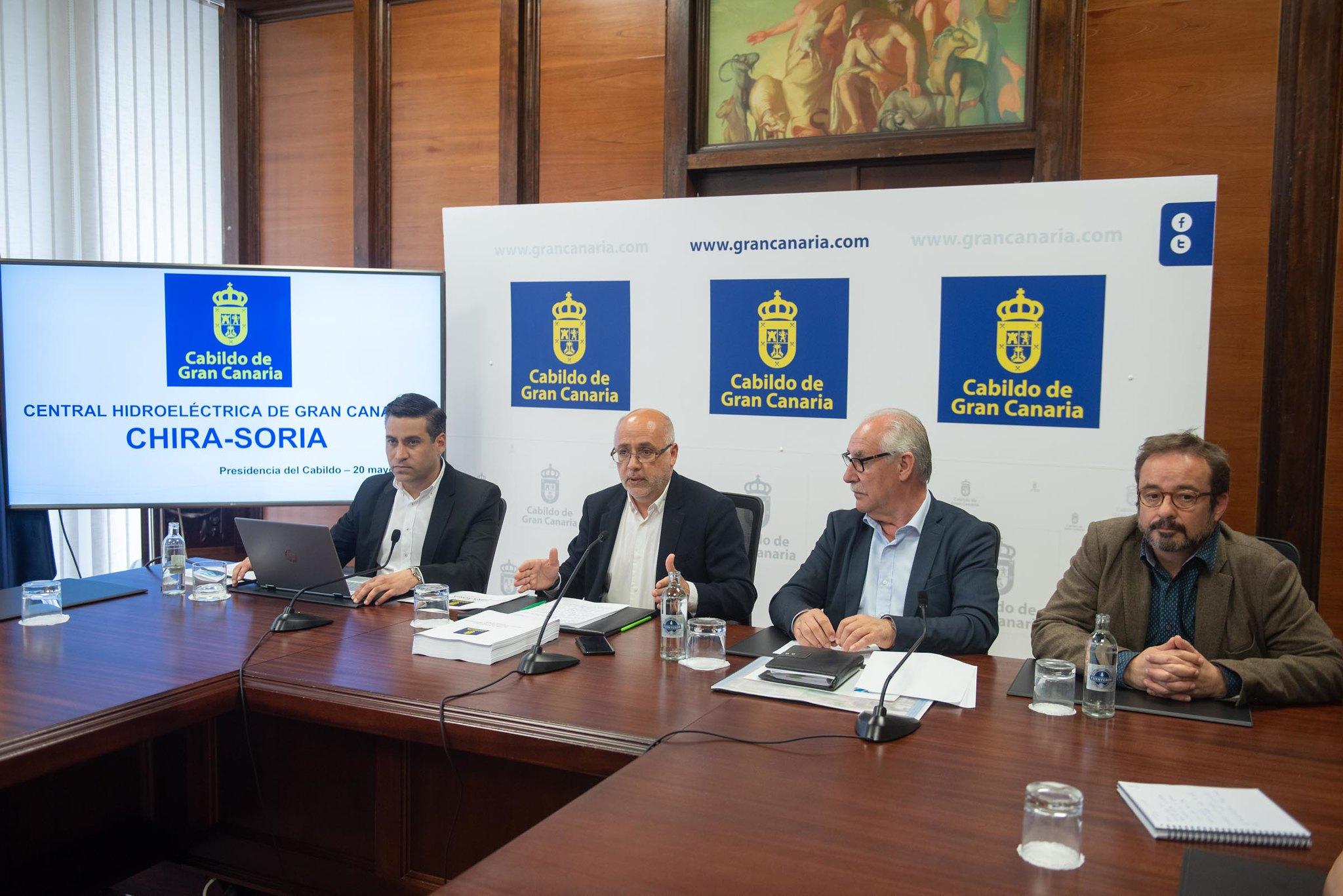 alegaciones del Cabildo al proyecto Chira- Soria