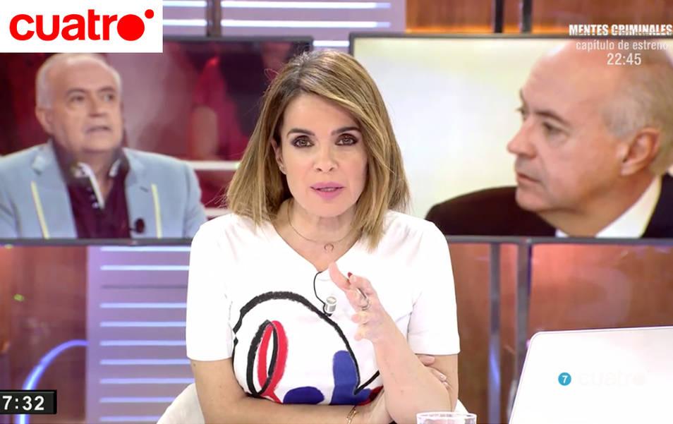 """Carme Chaparro en """"Cuatro al día"""""""