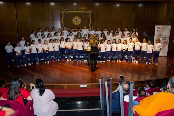 Más de 1.200 escolares cantarán el himno de Canarias al mismo tiempo