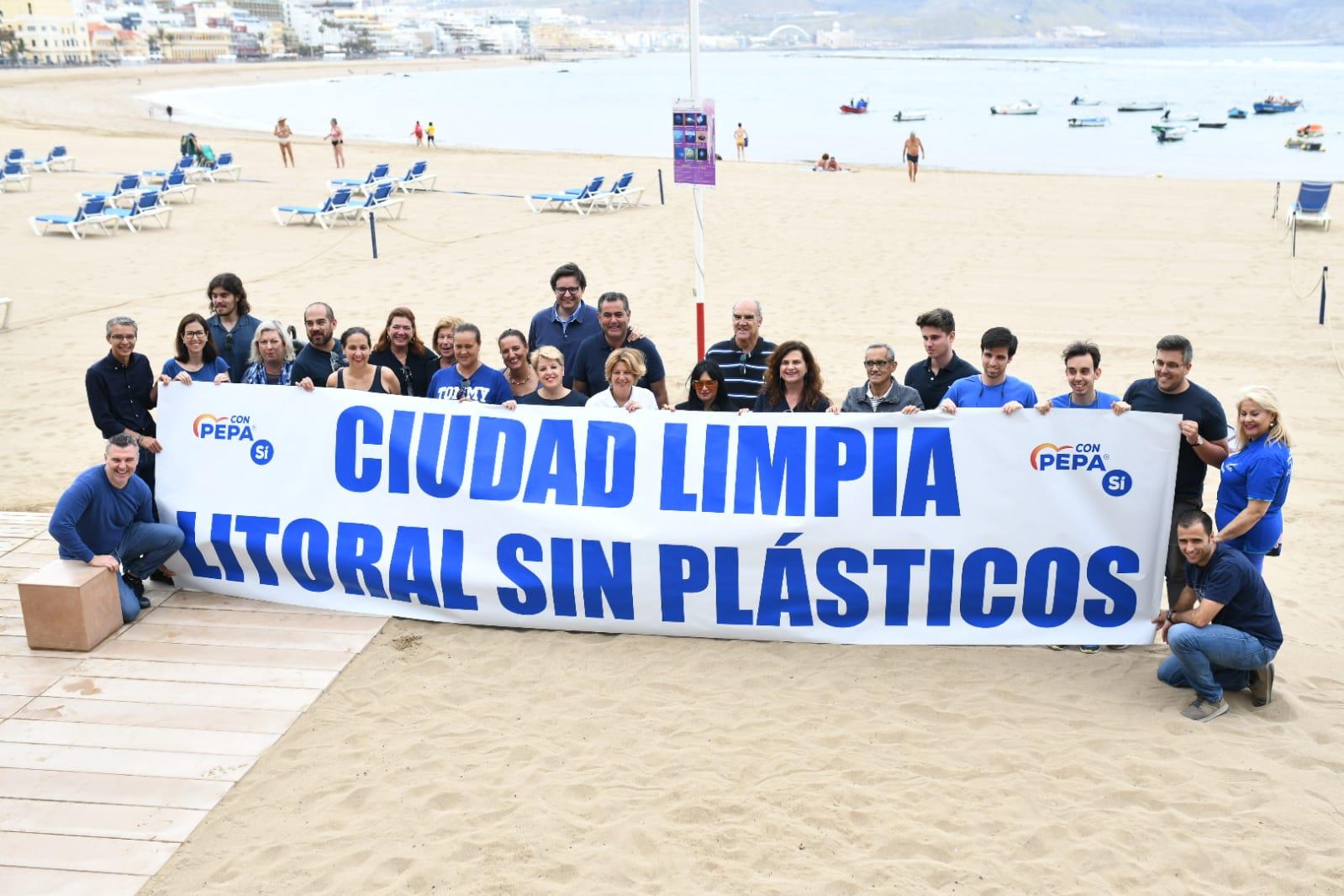 El Partido Popular en la Playa de Las Canteras
