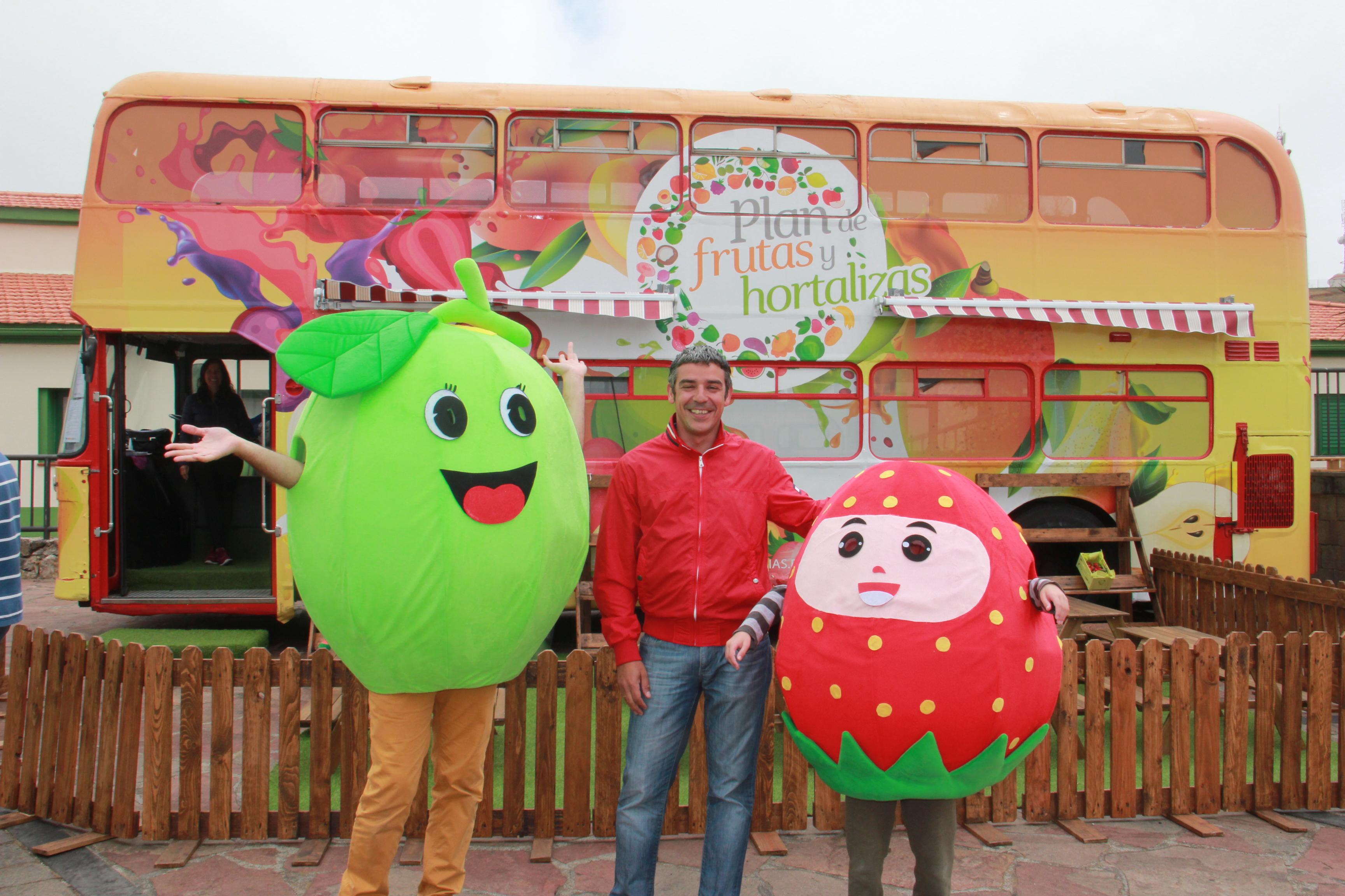 La Frutiguagua promueve en El Hierro el consumo de frutas de la agricultura local