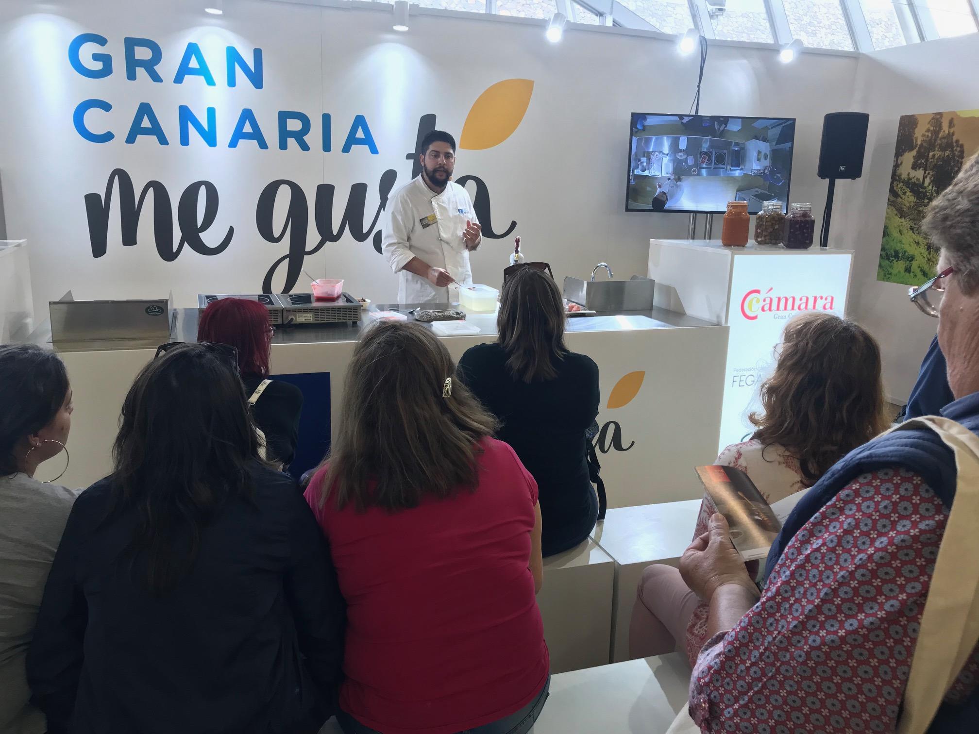 Gran Canaria ha acudido a GastroCanarias en Tenerife para promocionar los productos de la tierra