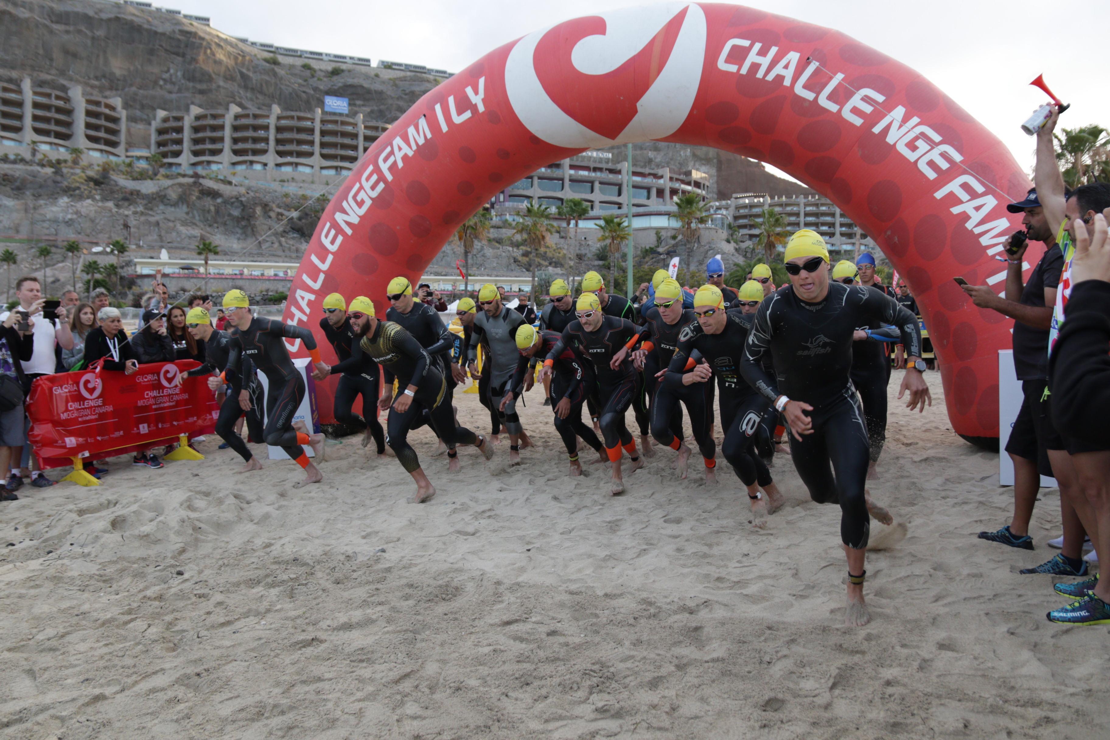 La quinta edición de la prueba de triatlón Challenge Mogán-Gran Canaria abre sus inscripciones