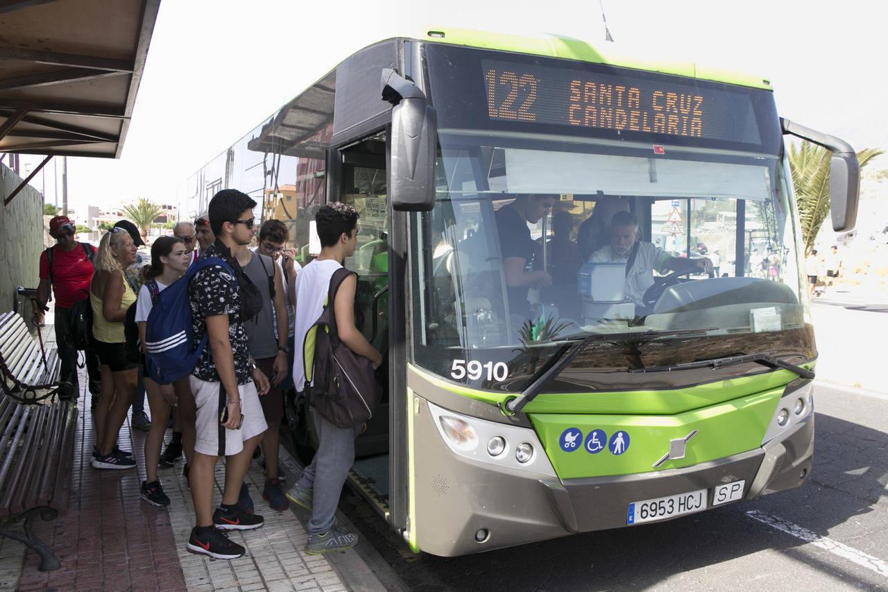 Transporte urbano en Canarias
