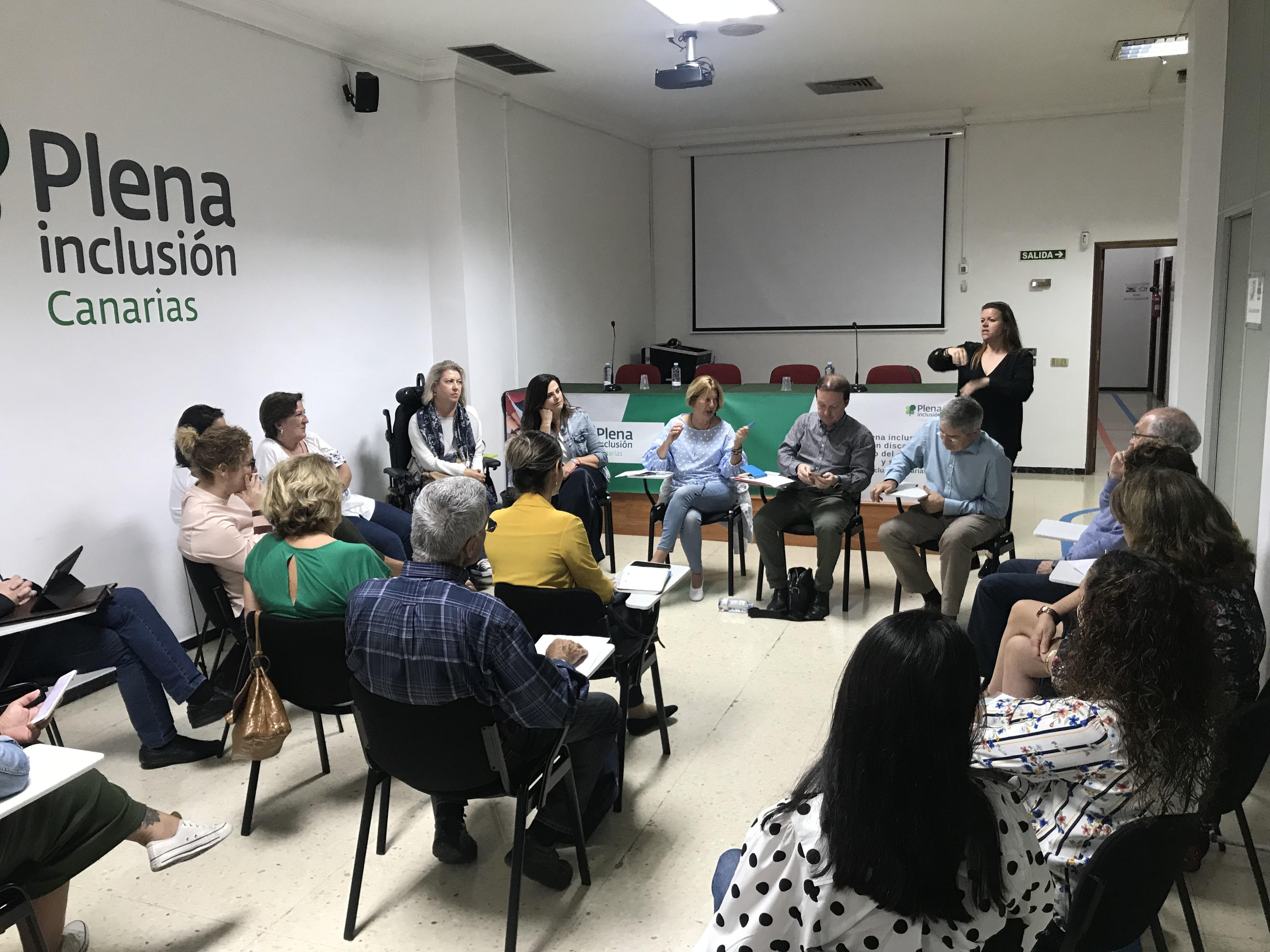 Reuniones de Pepa Luzardo con el Tercer Sector