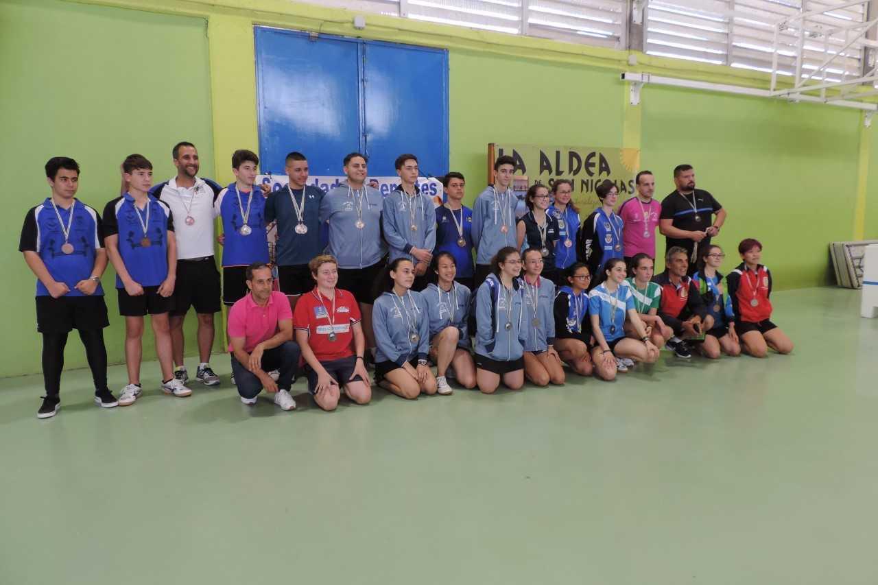 Campeonato de Canarias de Tenis de Mesa en La Aldea