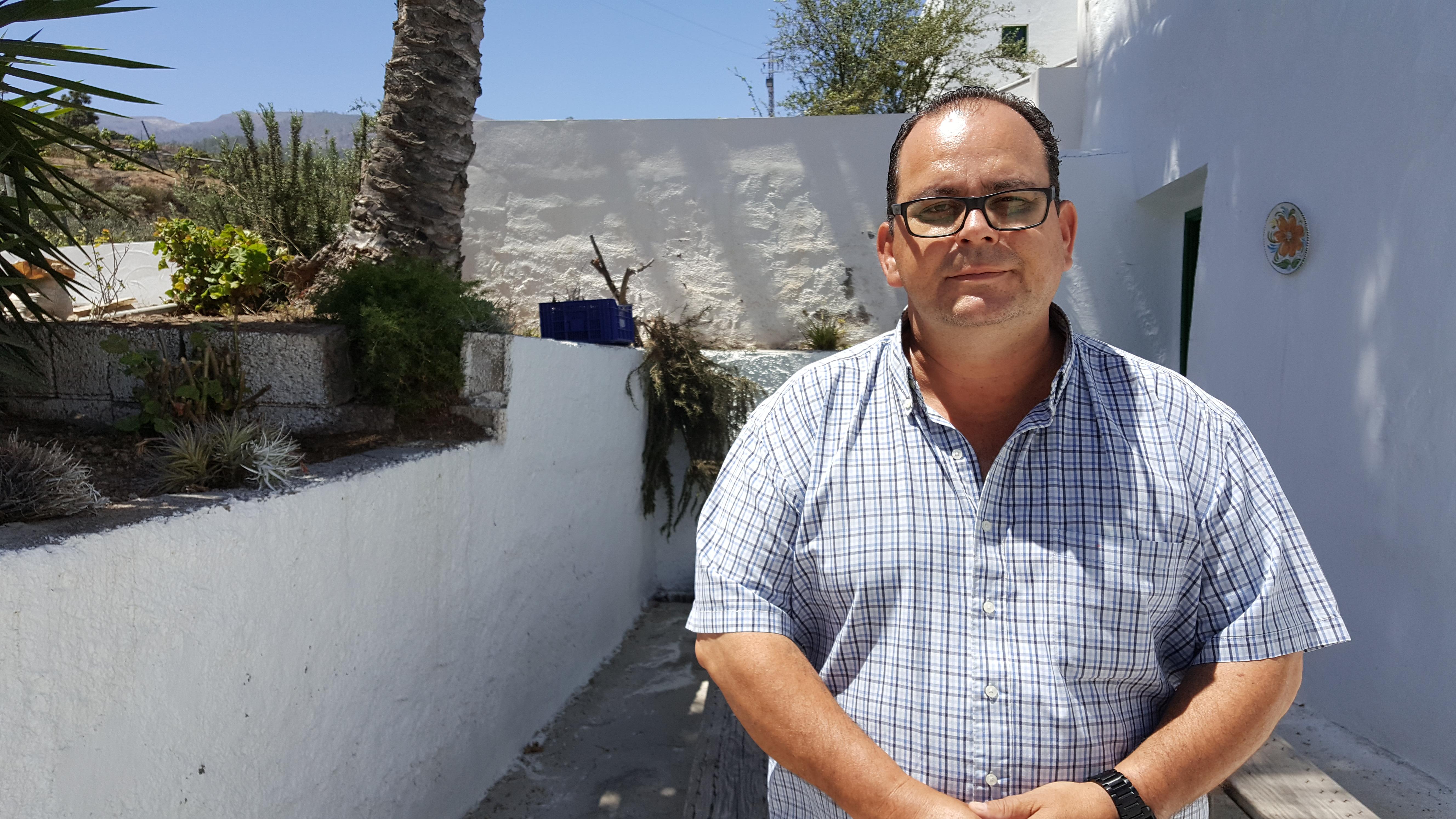 """Manuel Marrero: """"Ciudadanos es el único partido capaz de asegurar el cambio que Arico necesita"""""""