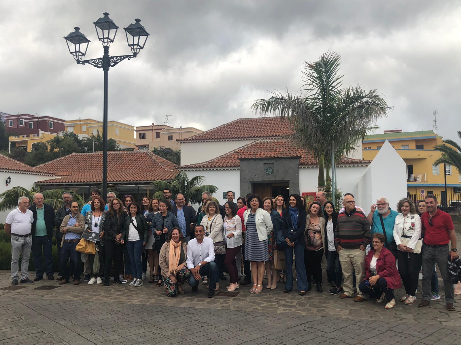 conmemoración del Día de la Escuela Unitaria en La Palma