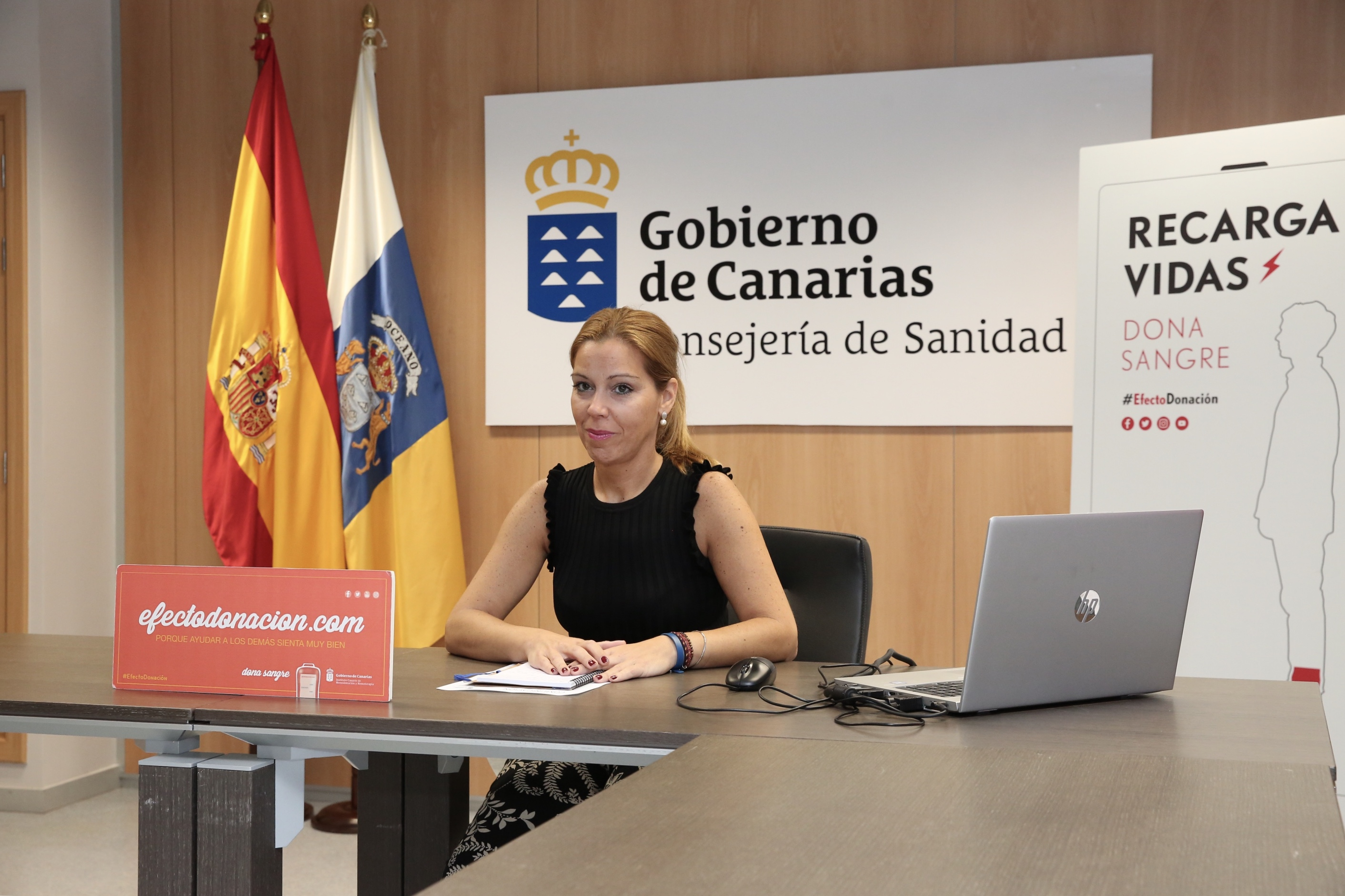 La presidenta del ICHH, Begoña Reyero