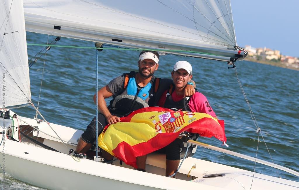 Gustavo y Rafael del Castillo, campeones de Canarias de Snipe
